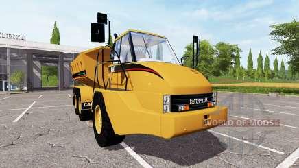Caterpillar 725A для Farming Simulator 2017