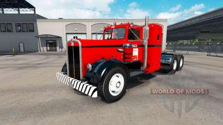 Скин West Coast на тягач Kenworth 521 для American Truck Simulator
