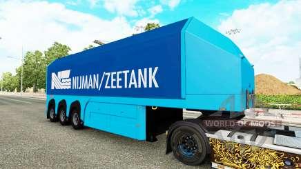 Сборник скинов на полуприцеп-стекловоз для Euro Truck Simulator 2