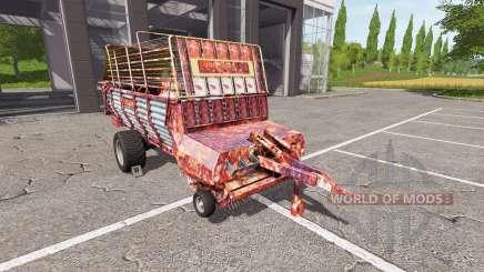 POTTINGER EUROBOSS 330 T rusty для Farming Simulator 2017