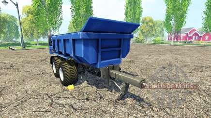 Hilken HI 2250 SMK blue для Farming Simulator 2015