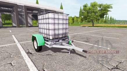 Прицеп с ёмкостью для воды для Farming Simulator 2017