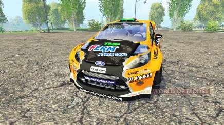 Ford Fiesta RS WRC для Farming Simulator 2015