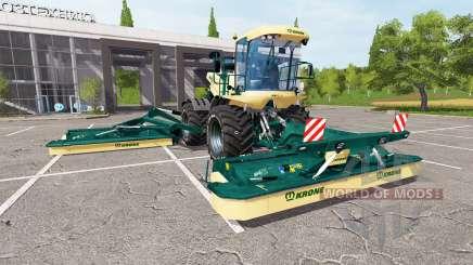 Krone BiG M 500 v3.0 для Farming Simulator 2017