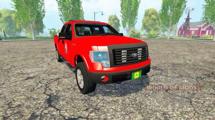 Ford F-150 Fire Department для Farming Simulator 2015
