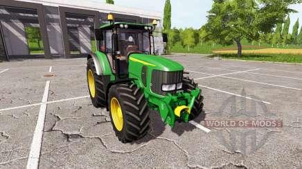 John Deere 6920S v2.0 для Farming Simulator 2017