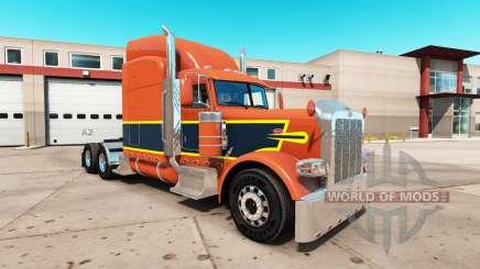 Скин Vintage на тягач Peterbilt 389 для American Truck Simulator