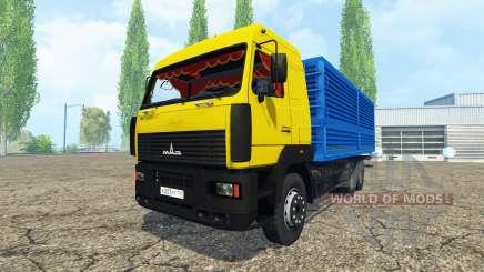 МАЗ 6312 для Farming Simulator 2015