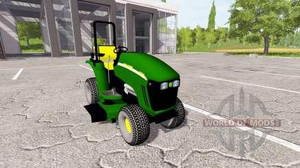 John Deere 3520 mower для Farming Simulator 2017