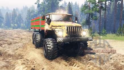 Урал 4320 Сибирь для Spin Tires