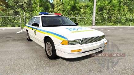 Gavril Grand Marshall Global Police v1.17 для BeamNG Drive