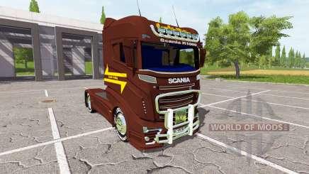 Scania R1000 для Farming Simulator 2017