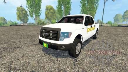 Ford F-150 Sheriff для Farming Simulator 2015