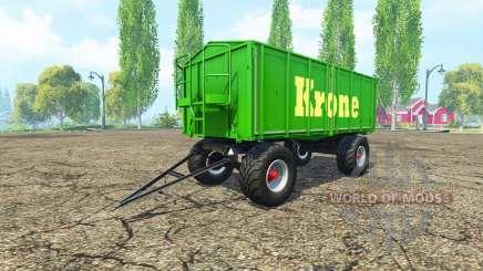 Kroger HKD 302 Krone v1.4 для Farming Simulator 2015