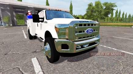 Ford F-550 2013 service для Farming Simulator 2017