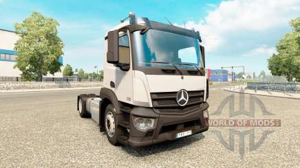Mercedes-Benz Antos v1.1 для Euro Truck Simulator 2