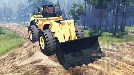 Caterpillar 994F для Spin Tires
