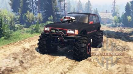 Toyota Land Cruiser 80 VX v2.0 для Spin Tires