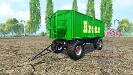 Kroger HKD 302 Krone для Farming Simulator 2015