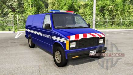Gavril H-Series Police Nationale v1.4 для BeamNG Drive
