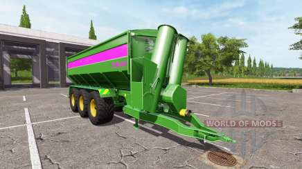 BERGMANN GTW 430 для Farming Simulator 2017