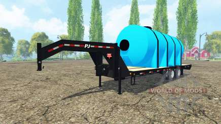 PJ Trailers fertilizer для Farming Simulator 2015