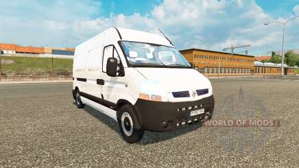 Renault Master для Euro Truck Simulator 2