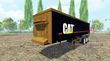 Полуприцеп Caterpillar для Farming Simulator 2015
