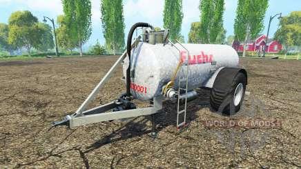 Прицеп-цистерна Fuchs для Farming Simulator 2015