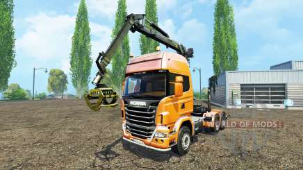 Scania R730 forest для Farming Simulator 2015