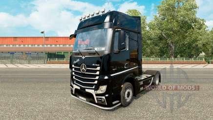 Скин Brutale на тягач Mercedes-Benz для Euro Truck Simulator 2