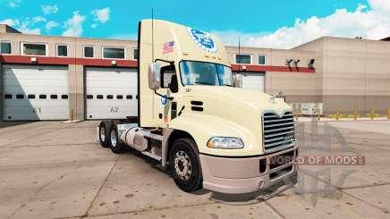 Скин Stater Bros. на тягач Mack Pinnacle для American Truck Simulator