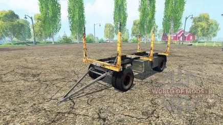 Лесовозный прицеп ГКБ для Farming Simulator 2015