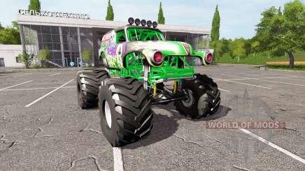 Grave Digger для Farming Simulator 2017