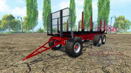 Лесовозный прицеп Fliegl для Farming Simulator 2015
