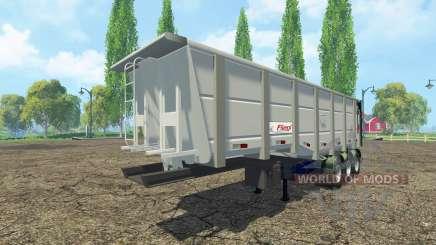 Самосвальный полуприцеп Fliegl для Farming Simulator 2015