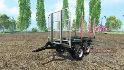 Прицеп сортиментовоз для Farming Simulator 2015