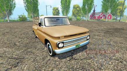 Chevrolet C10 1966 fleetside lwb для Farming Simulator 2015
