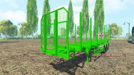 Полуприцеп сортиментовоз Fliegl для Farming Simulator 2015