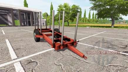 Лесовозный прицеп для Farming Simulator 2017