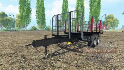 Лесовозный прицеп BRANTNER для Farming Simulator 2015