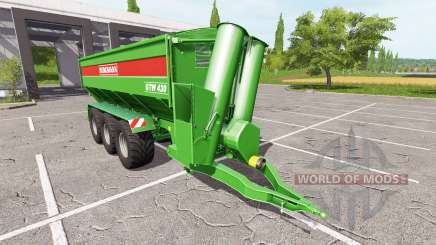 BERGMANN GTW 430 v1.1 для Farming Simulator 2017