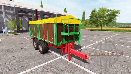 Kroger TKD 302 overload v1.0.3 для Farming Simulator 2017