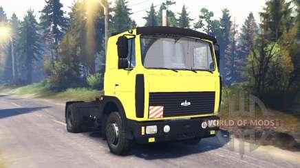 МАЗ 54324 v2.2 для Spin Tires