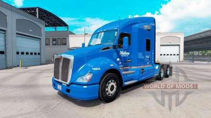 Скин Melton на тягач Kenworth T680 для American Truck Simulator