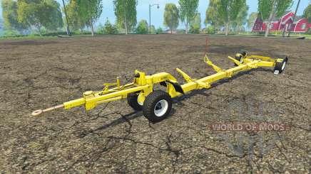 Прицеп для жатки New Holland для Farming Simulator 2015