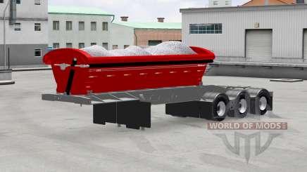 Самосвальный полуприцеп Midland TW3500 для American Truck Simulator