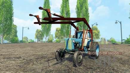 ЮМЗ 6Л стогомёт для Farming Simulator 2015