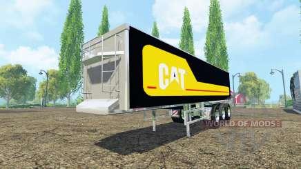 Kroger Agroliner SRB3-35 Caterpillar chrome для Farming Simulator 2015