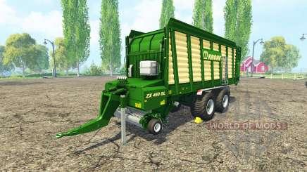 Krone ZX 450 GL v2.0 для Farming Simulator 2015
